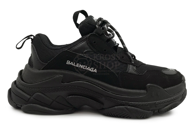 Balenciaga Women's Triple S Black