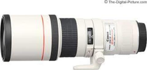 Canon EF 400mm f/5.6L USM (JAPAN)