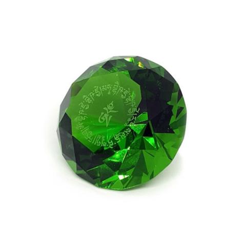 Кристалл зеленый