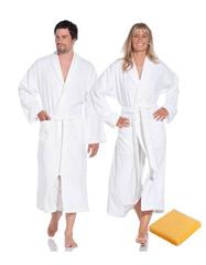 Элитный халат махровый Weekend желтый от Vossen