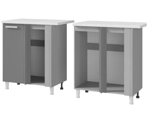 Шкаф-стол угловой (1000*820*600) 10УР2