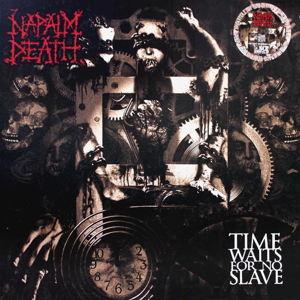 Napalm Death Quot Time Waits For No Slave Quot купить на виниловой