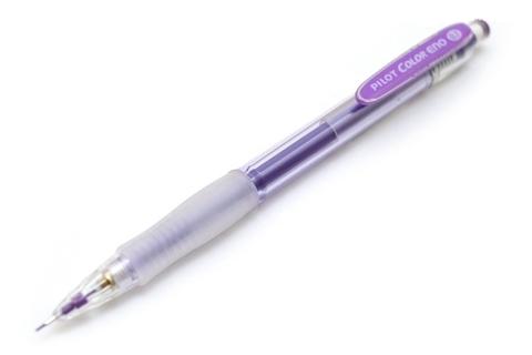 Цветной механический карандаш 0.7 мм Pilot Color Eno Violet (фиолетовый)
