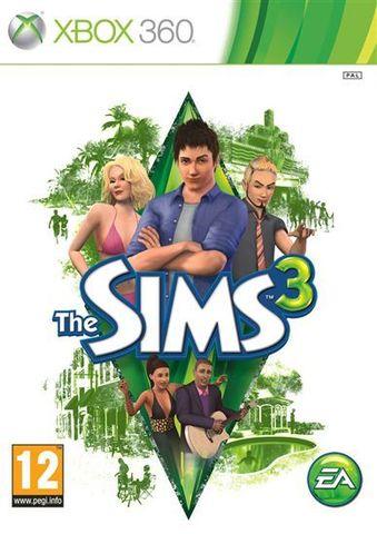Xbox 360 The Sims 3 (английская версия)