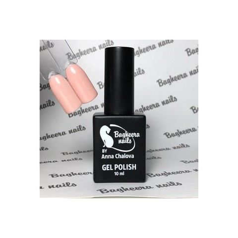 Bagheera Nails BN-84 камуфлирующий светлый гель-лак 10 мл