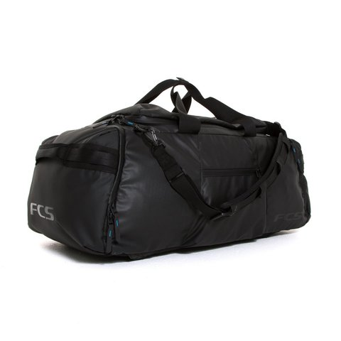 FCS Duffel Travel Bag Large 92L Black