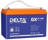 Аккумулятор DELTA GX 12-100 ( 12V 100Ah / 12В 100Ач ) - фотография