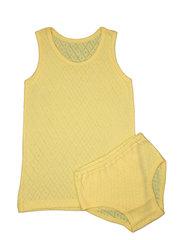 Комплект 030 022а для девочки желтый купить