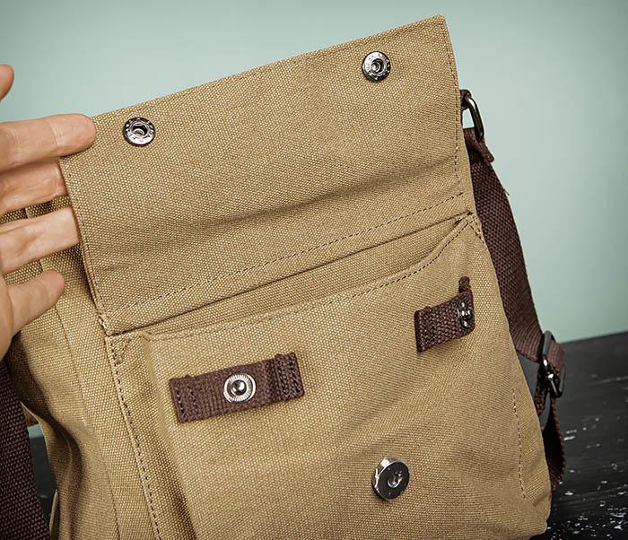BAG503-2 Мужская сумка планшет из плотной ткани фото 10
