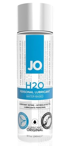 Нейтральный лубрикант на водной основе JO Personal Lubricant H2O - 240 мл.