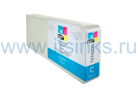 Картридж для Epson 7900/9900 C13T636200 Cyan 700 мл
