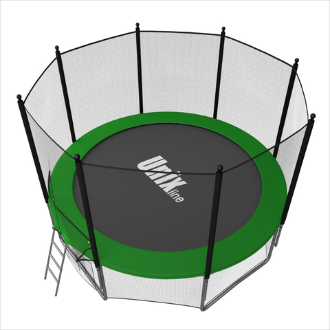 Батут UNIX line outside (Green), 8 ft
