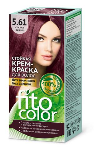 Фитокосметик Fito Color Стойкая крем-краска для волос тон Спелая вишня 115мл