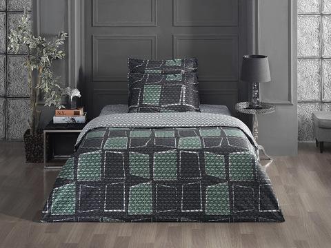 Комплект постельного белья Сатин печатный 1-спальный