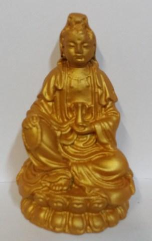 Будда Амитаюс - Божество долгой жизни, полистоун 11 см