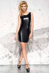 Платье из эко-кожи Jasmin