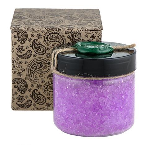 Натуральная соль для ванны с экстрактом лаванды, Huilargan