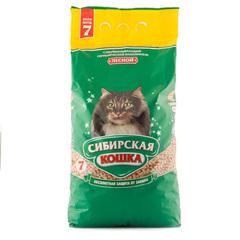 Сибирская Кошка Лесной древесный наполнитель
