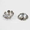 Винтажный декоративный элемент - шапочка 7,5х2,5 мм (оксид серебра)