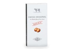 Молочный шоколад с дробленым фундуком Swiss Original, 100г