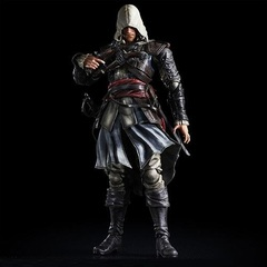 Ассасин Крид Черный Флаг фигурка Эдвард Кэновуй (копия) — Assassin's Creed Edward Kenway Play Arts Kai (copy)