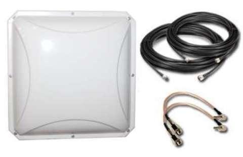 Комплект усиления LTE сигнала для модема 4G-SET-Petra-MIMO Дача