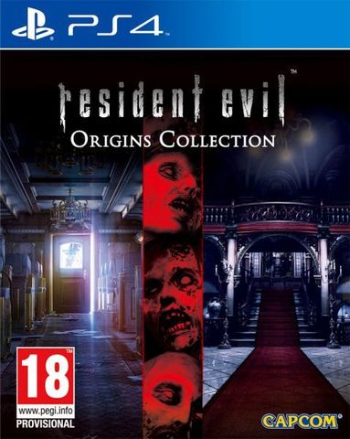 PS4 Resident Evil Origins Collection (русская документация)