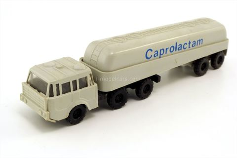 Tatra 813 tank-wagen Caprolactam 12509 VEB Modell-Konstrukt TT 1:120