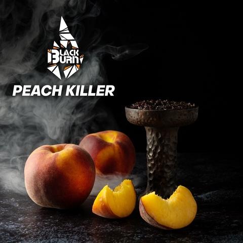 Табак Burn Black Peach Killer (Персик) 200 г