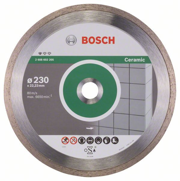 Алмазный диск Standart for Ceramic 230-22,23 Bosch 2608602205
