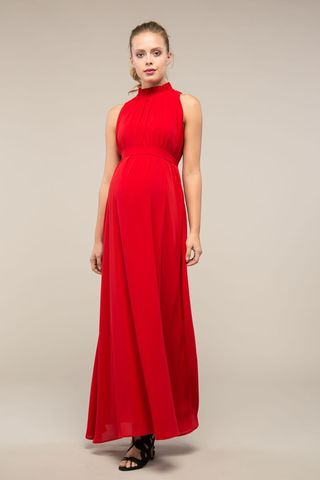 Платье 09001 красный