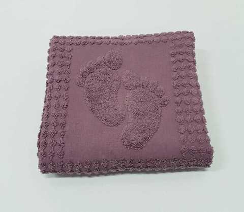 Коврик для ног 50x70 фиолетовый