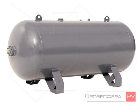 Ресивер для компрессора РГ 500/16 оцинкованный горизонтальный