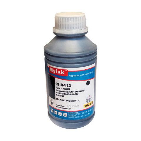 Чернила для CANON PFI-706 imagePROGRAF iPF9400/9400S/8400/8400S. 500 мл, black, Pigment MyInk CI-B412