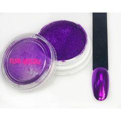 Pink House, Зеркальная втирка №4, фиолетовая, 5 гр