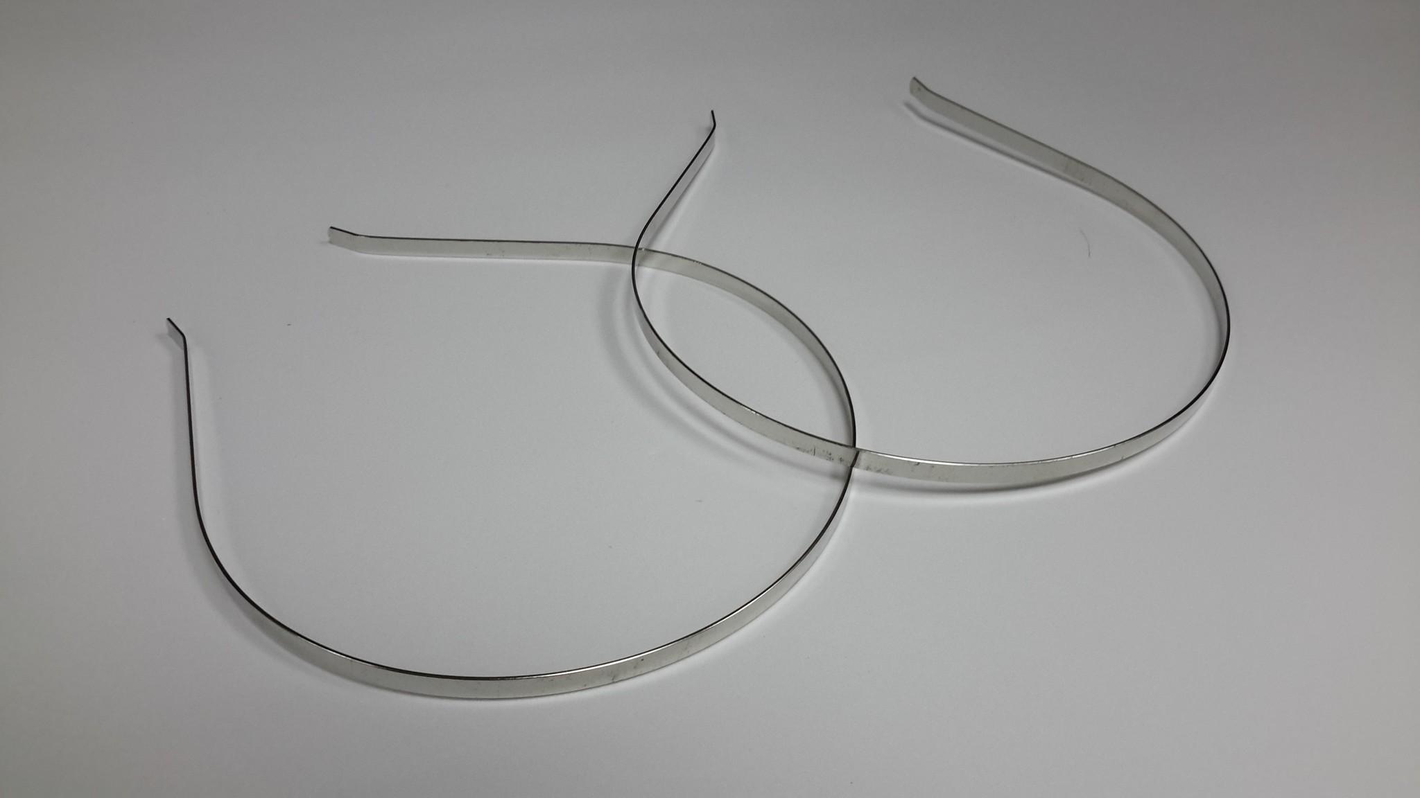 Основа - ободок 0,5 см, металл.