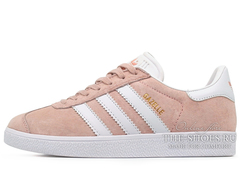 Кроссовки Женские Adidas Gazelle Light Pink White