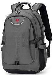Рюкзак ROTEKORS 1567-17 USB Серый