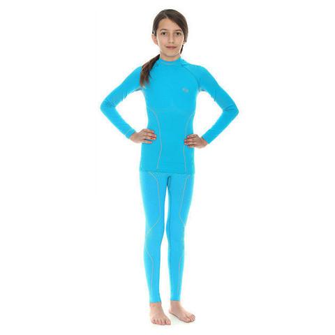 Комплект термобелья Brubeck Thermo голубой (LE10990-LS11700) подростковый для девочек