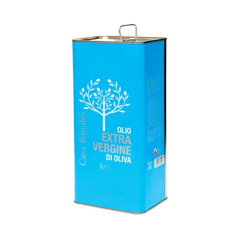 Масло Casa Rinaldi оливковое нерафинированное фильтрованное Extra Virgine 5 л