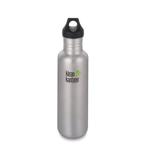 Бутылка Klean Kanteen Classic Loop 27oz (800 мл) Brushed Stainless