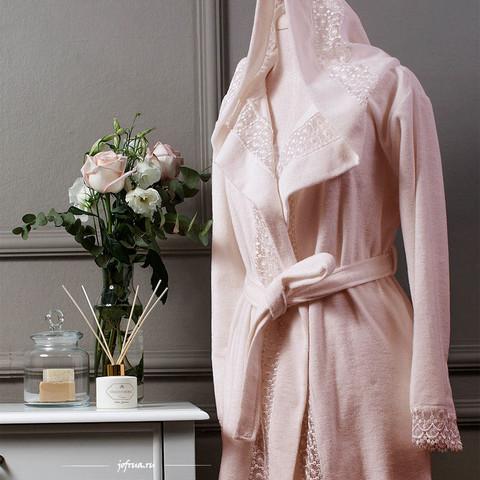ISABELLA махровый женский халат и полотенце Tivolyo Home Турция