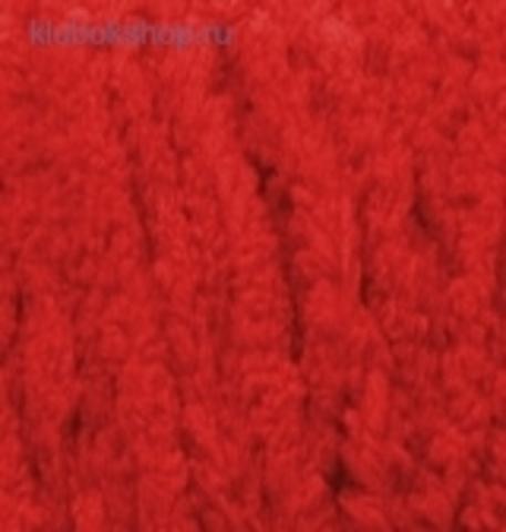 Softy Plus (Alize) 56 красный - фото