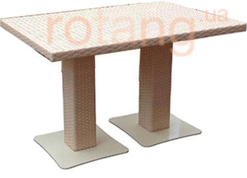 Акция-10%! Стол обеденный Монако-2 Бежевый