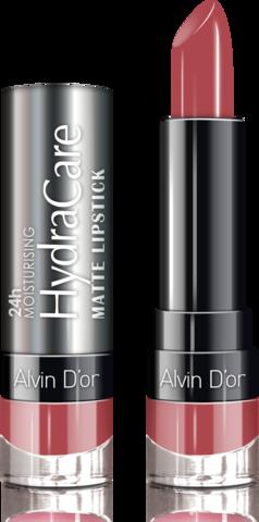 Alvin D`or Губная помада матовая HydraCare matte lipstick (тон 06) ADL-14 3,7г