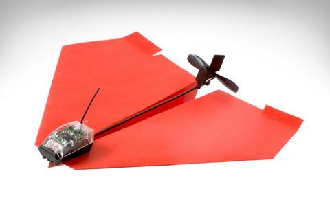 Бумажный самолетик с мотором Paper Plane 338 (код: PU338)