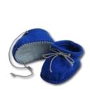 Ботиночки из фетра - Синий. Одежда для кукол, пупсов и мягких игрушек.