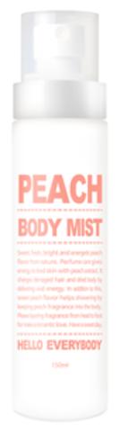 Увлажняющий мист для тела с персиком - Peach Body Mist