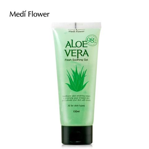 Смягчающий гель с алоэ 98% - Aloe Vera Soothing gel MediFlower