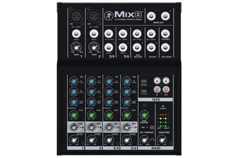 MACKIE MIX8 аналоговый микшер